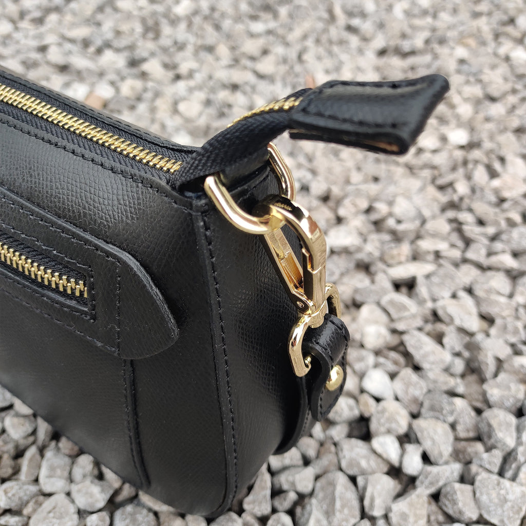 Italian Made Leather Handbag