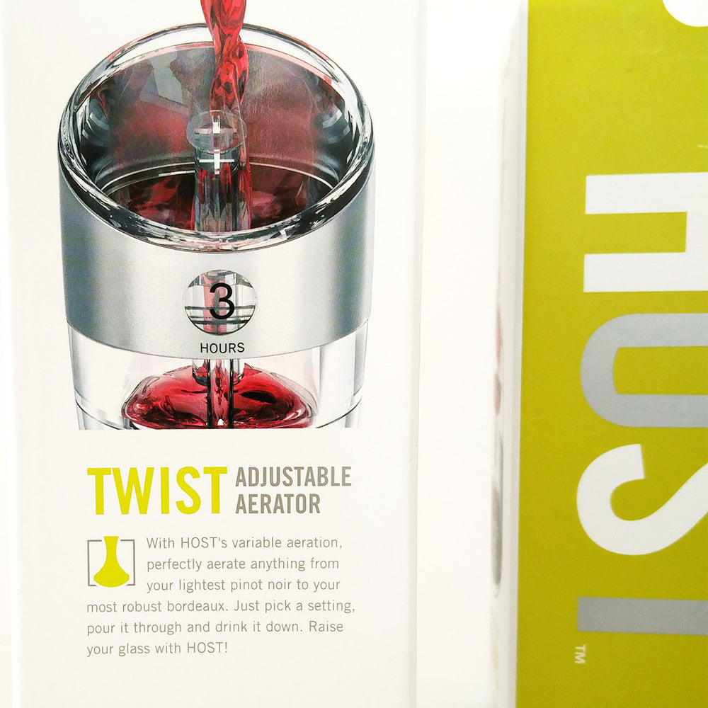 HOST Twist Adjustable Wine Aerator