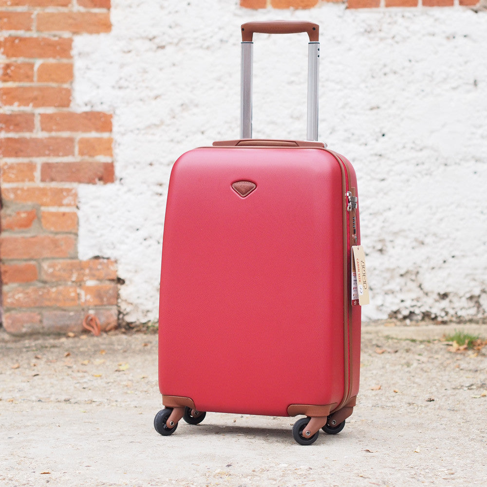 Hard suitcase wheeled luggage - by JUMP
