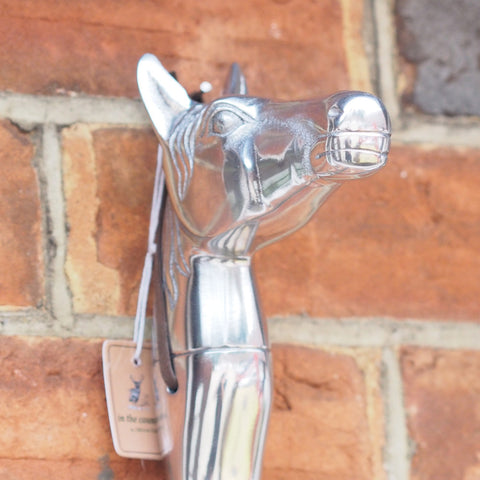 Chrome Shoe Horn - Horse