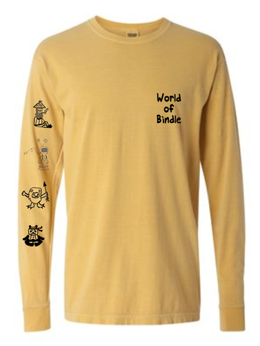 World Of Bindle Long Sleeve (Yellow)
