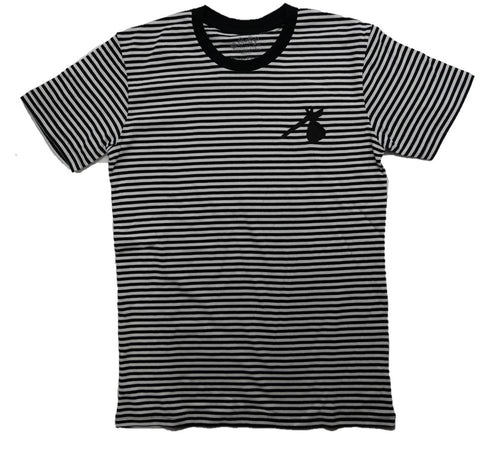 Bindle Stripe Shirt (Black)