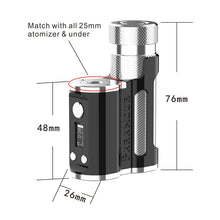 Load image into Gallery viewer, Mechlyfe Paramour SBS 80W 21700 TC Mod