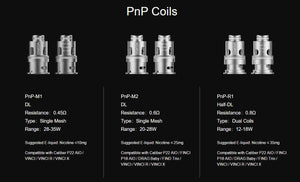 Voopoo Replacement Coils for Drag S/Drag X/Drag Baby Tank/VINCI Kit/VINCI X Kit