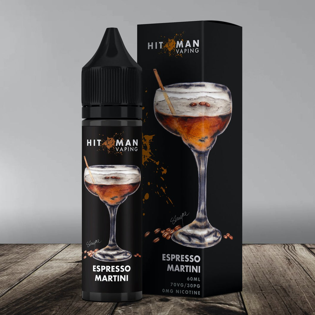 Hitman Vaping - Espresso Martini