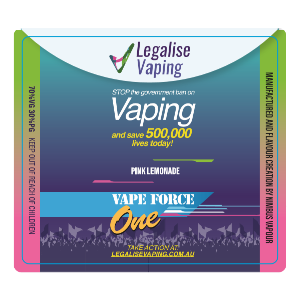 Vape Force One – Pink Lemonade E-Liquid