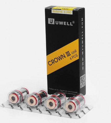 Uwell Crown 3,Crown 3 Mini Replacement Coils - 4pcs