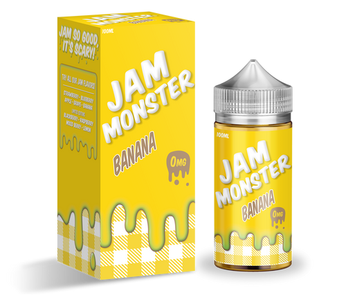 Jam Monster - Banana 100ml