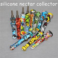 Honey Straw Nectar Collector Kits With 100% 14mm Gr2 Titanium Tips