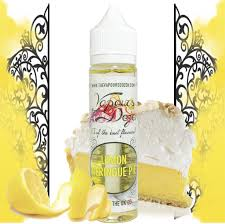 Lemon Meringue Pie - The Vapours Dozen