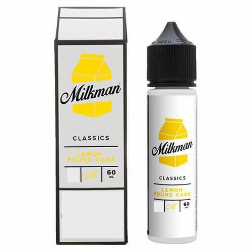 Milkman 60ml | Classics | Lemon Pound Cake