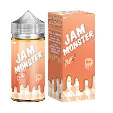Jam Monster - Peach 100ml
