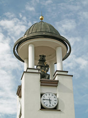 In Architecture Other Spaces, Samogitian Bear in the Telšiai town clock tower - ROMUALDAS INČIRAUSKAS