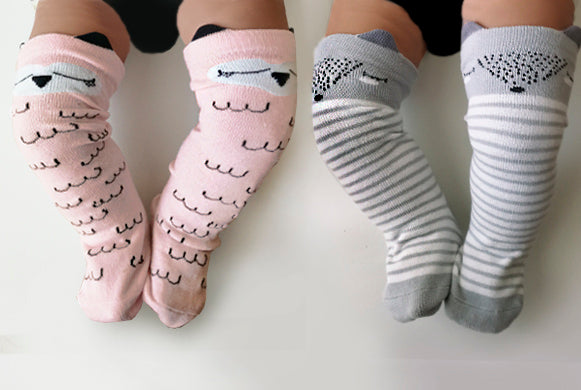 Girl Animal Socks (Pack de 2)