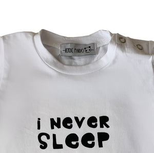 Conjunto I Never Sleep