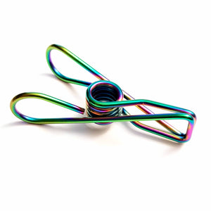 PEGZ Rainbow and Multi Colour Wire Pegs