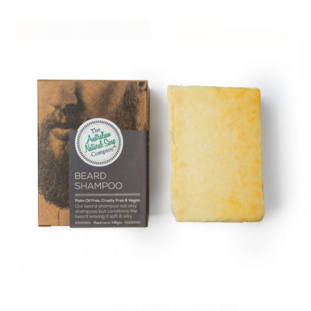 ANSC Beard Shampoo bar 100g