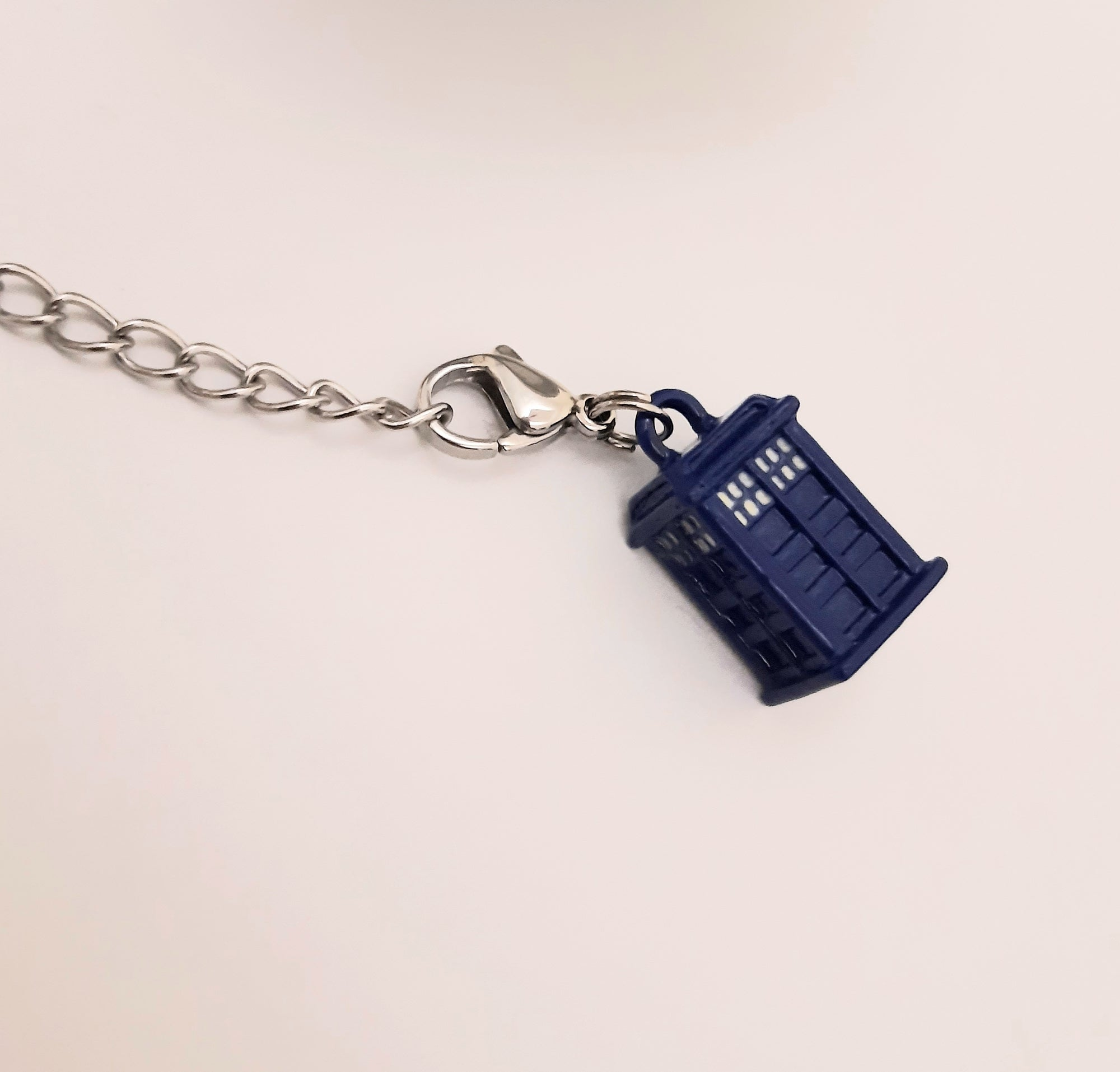Mesh Tea Ball Infuser Tardis Charm