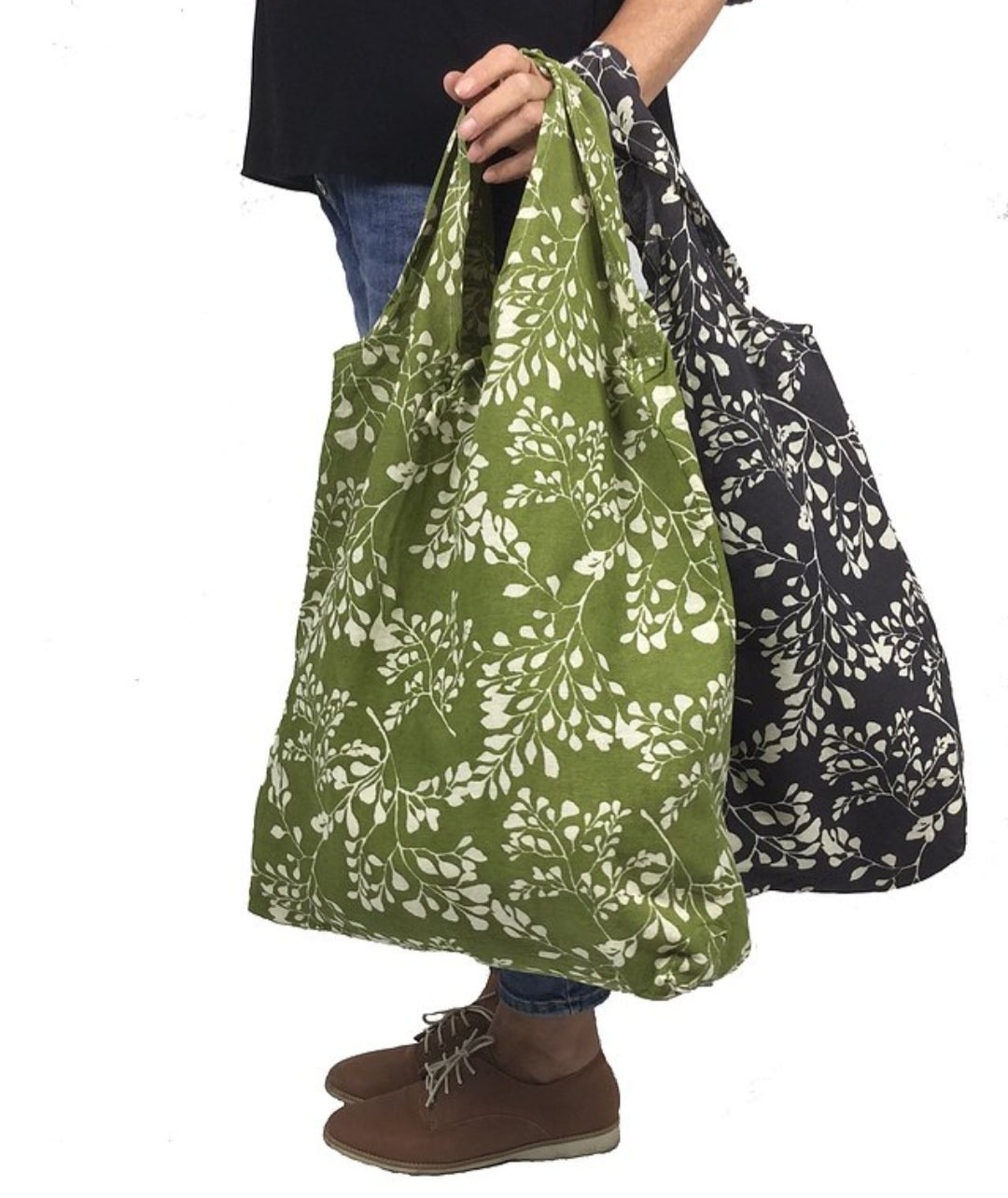 Apple Green Duck Hampi Shopping Bag