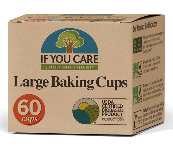 If You Care Large Baking Cups 60pk