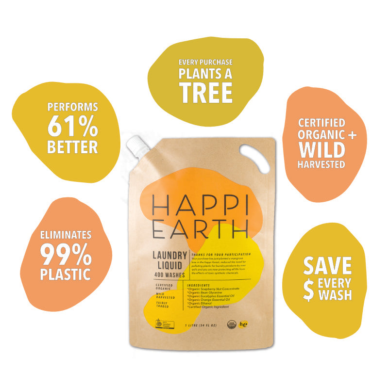 Happi Earth Laundry Liquid
