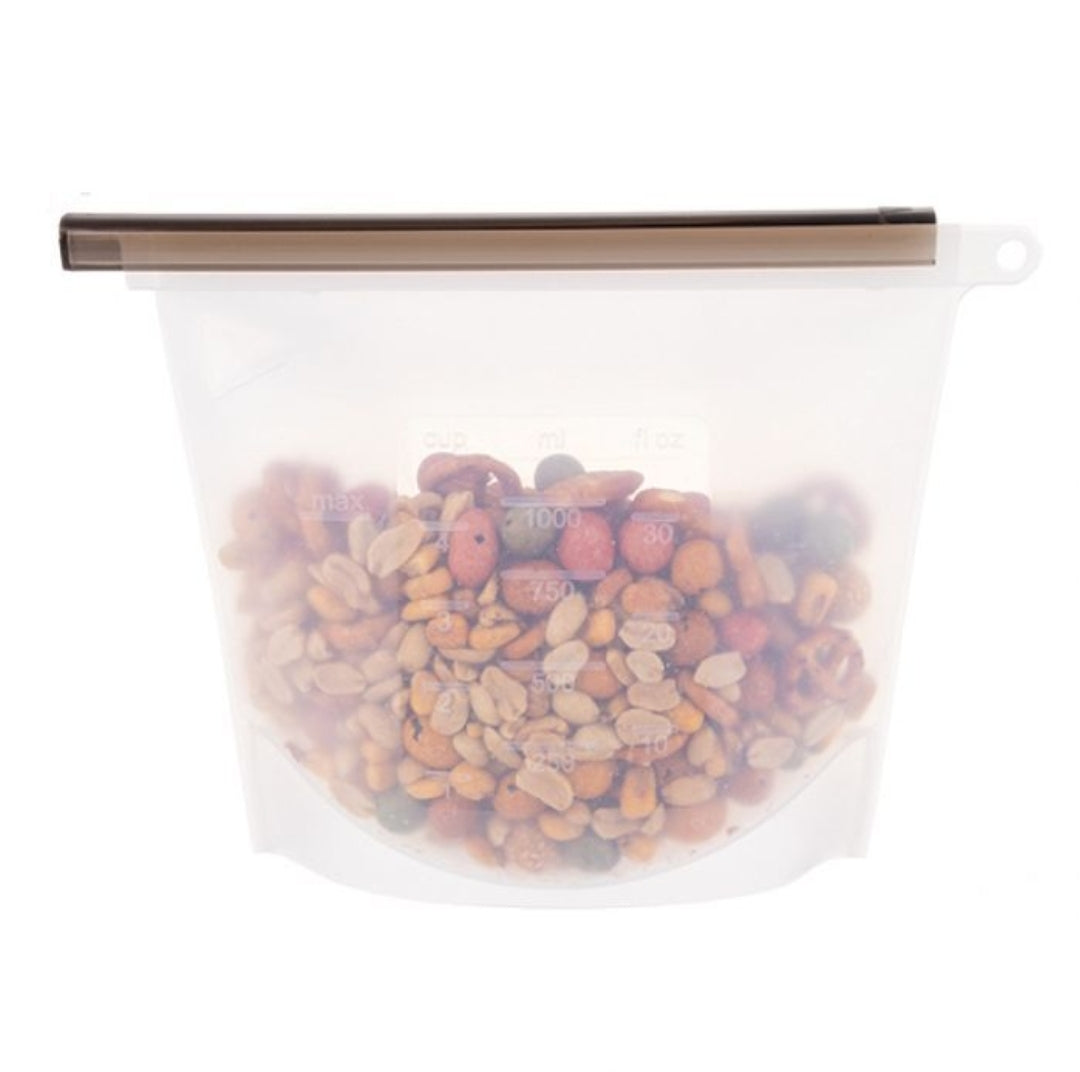 Appetito 1L Silicone Food Storage Bag