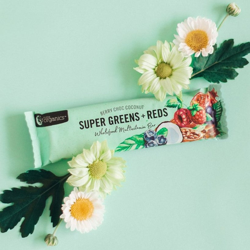Super Greens + Reds Multivitamin Bar