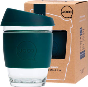 Joco Reusable Glass Cup 354ml (large)