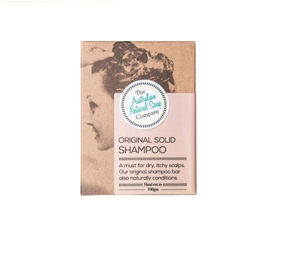 Original Solid Shampoo Bar 100g