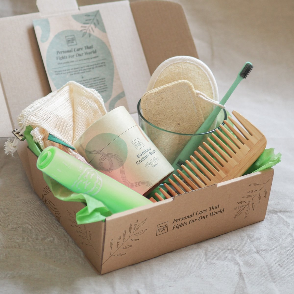 Eco Green Home Package by Brush It On