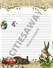Load image into Gallery viewer, April - Writing Paper set (10 sheets)