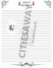 Load image into Gallery viewer, Febuary - Writing Paper set (10 sheets)
