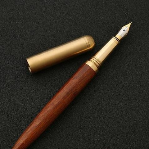 Wooden Fountain Pen - CitiesAway