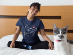Purr-fect Cat Short-Sleeve T-Shirt
