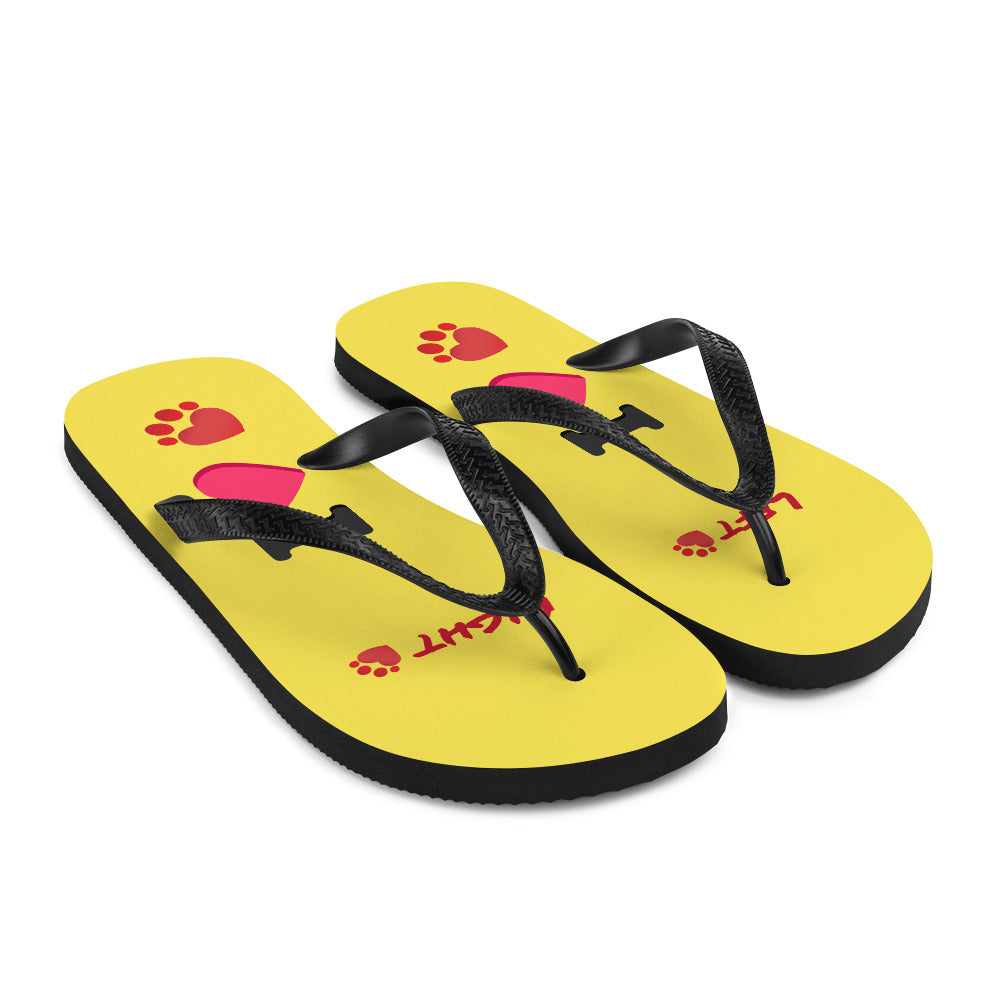 Pet Sitters Ireland Club Flip-Flops