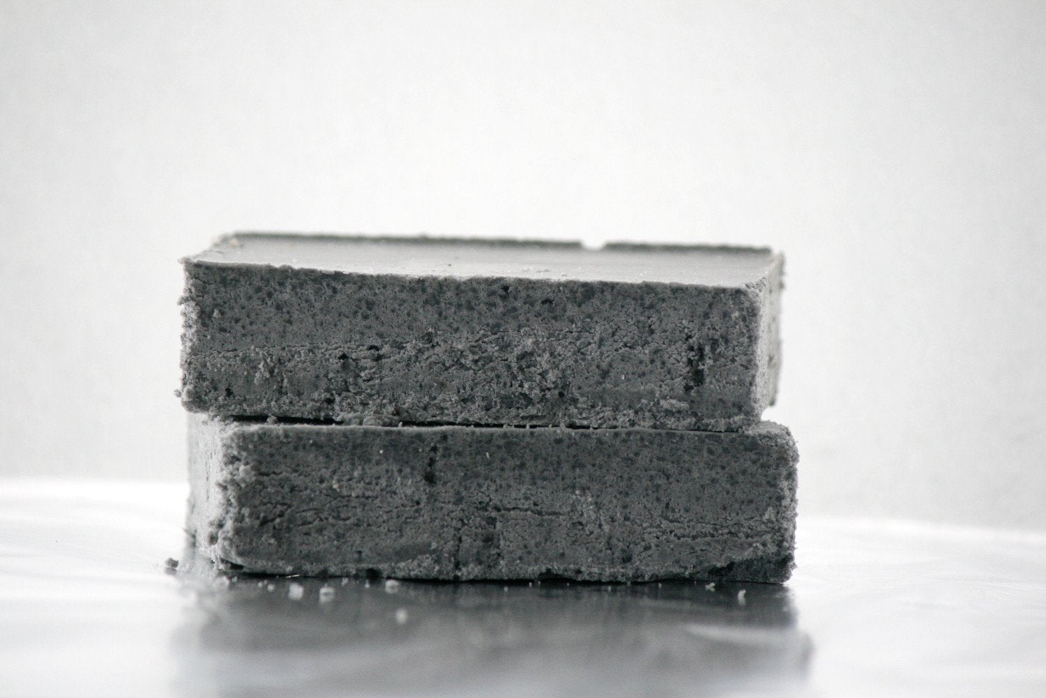 Charcoal Salt Soap - Babassu Salt Bar - Essential