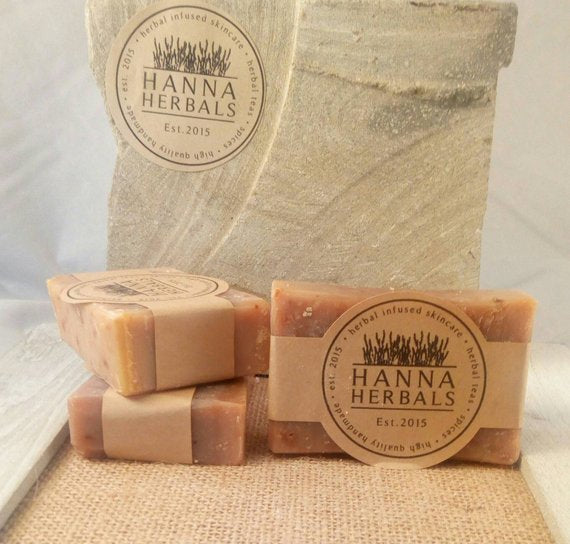 Egyptian Amber Soap 4 ounce bar -shea butter soap