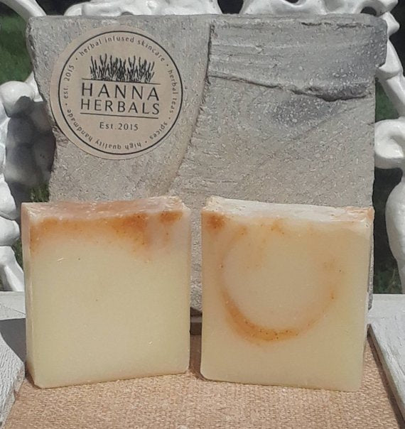 Mango Papaya Soap - handmade soap - homemade soap