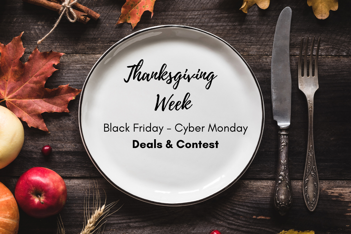 2020 AfterRetail Thanksgiving Week Black Friday to Cyber Monday Deals and Contest
