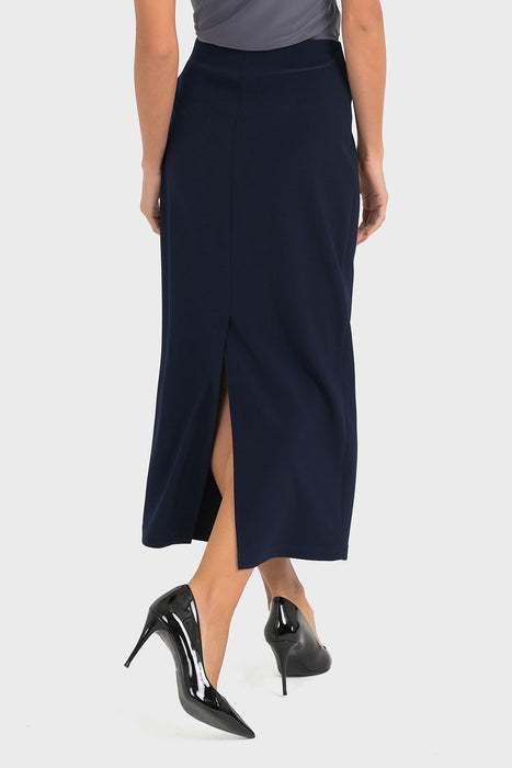 Joseph Ribkoff Straight Cut Slip-On Midi Skirt 193092 NEW