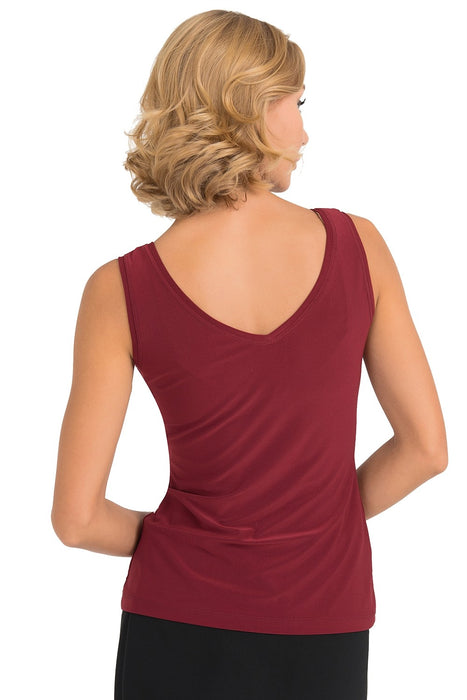 Joseph Ribkoff Deep V-Neckline Sleeveless Camisole Top 193166 NEW