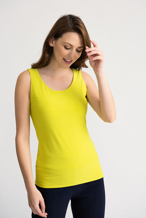 Joseph Ribkoff Style 202386 Limeade Scoop Neck Sleeveless Tank Top
