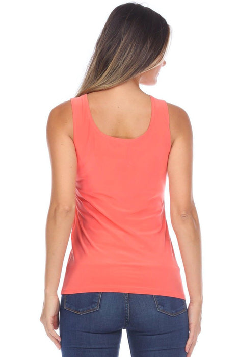 Joseph Ribkoff Scoop Neck Sleeveless Tank Top 202386 NEW