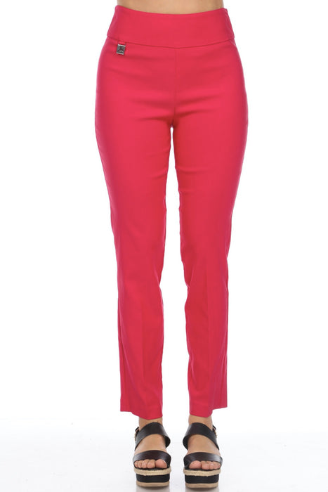Joseph Ribkoff Straight Leg Slip-On Cropped Pants 201483 NEW