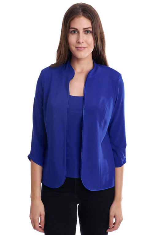 Joseph Ribkoff Style 191170 Royal Sapphire 3/4 Sleeve Twin Set Jacket