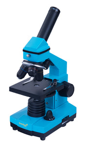 Two microscopes in one. Advanced NG configuration. Color: azure.