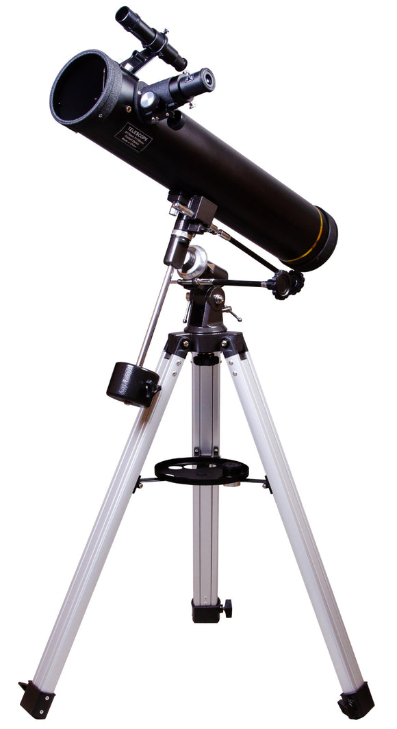 Newtonian reflector. Aperture: 76mm. Focal length: 700mm