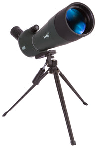 An angled eyepiece. Magnification: 20–60x. Objective lens diameter: 80mm