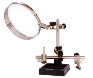Magnification: 2/6x. Diameter: 90/21mm. Third hand holders