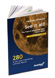 Paperback. Information on 280 celestial objects. Colorful images, detailed star charts, commentaries.